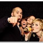 wedding party photo booth devon