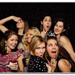 wedding party photo booth devon