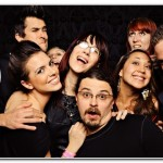 wedding party photo booth hire devon