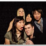 wedding party photo booth hire devon