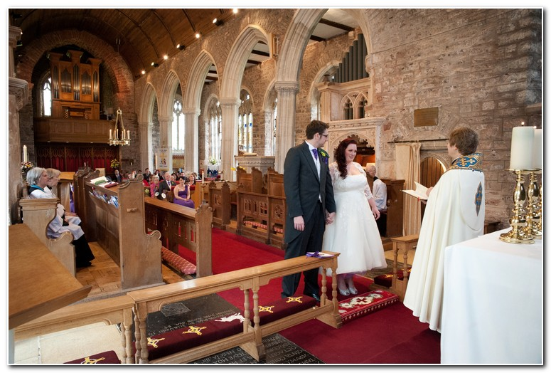 Marldon Church wedding