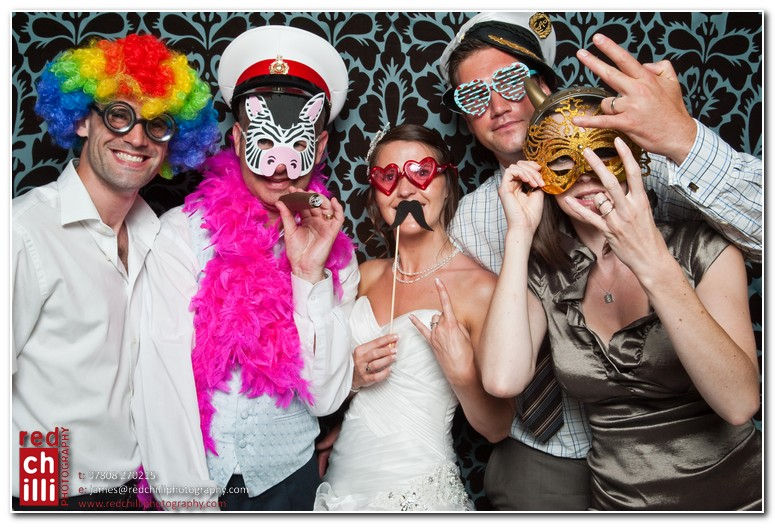 Muddifords Court wedding photo booth