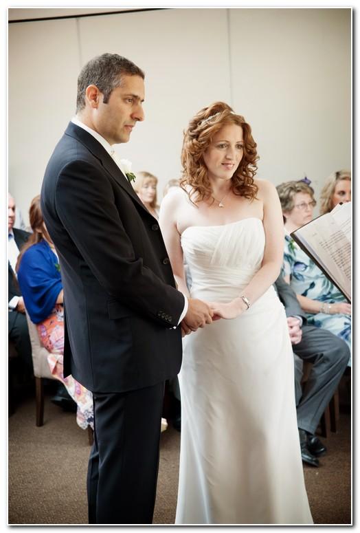 Hartnoll Hotel Wedding in the Atrium