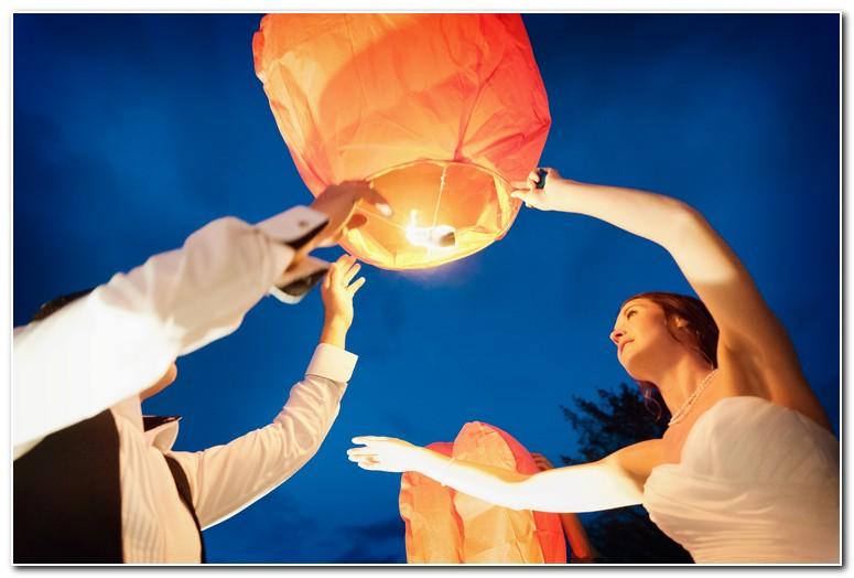 wedding lanterns Devon