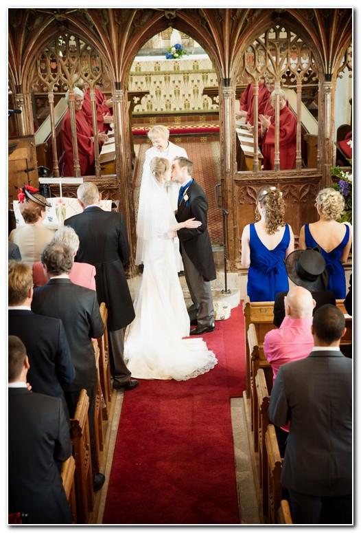 wedding at Kentisbeare Church