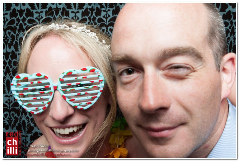 Hillbark Hotel wedding photo booth