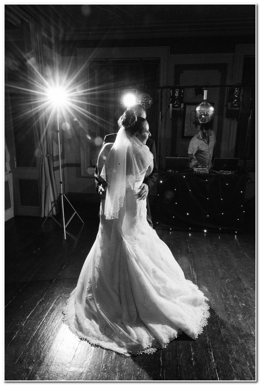 first dance at Langdon Court Hotel