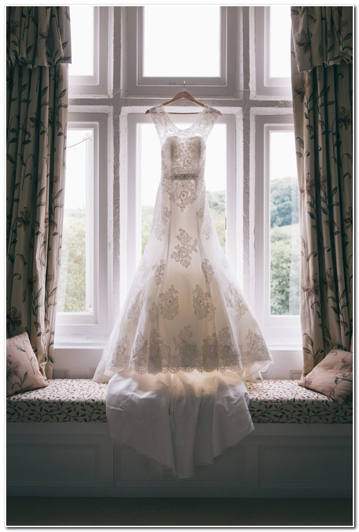 wedding dress at langdon court