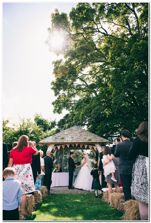 wedding at trevenna barn