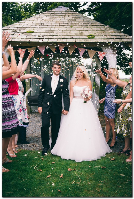 wedding at trevenna barns